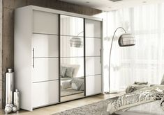White wardrobes with sliding doors and mirrors: Stylish storage solutions for your home white wardrobes with sliding doors inova white 2 door sliding door wardrobe slider KMKYQIZ White Sliding Door Wardrobe, Sliding Doors, Bedroom Cupboard Designs, Bedroom Cupboards, Mirrored Bedroom Furniture, Bedroom Decor, Furniture Nyc, Furniture Dolly, Oak Shelves