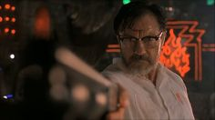 Harvey Keitel in From Dusk Till Dawn (1996) as Jacob Fuller.