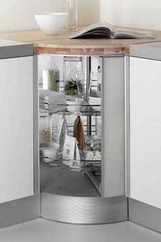 Using the Space in Kitchen Corners