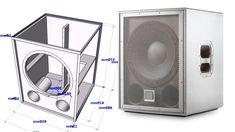 Speaker Plans, Sub Box, Speaker Design, How To Plan, Dj Remix, Youtube, Projects, Diy, Subwoofer Box