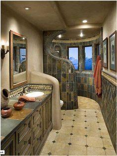 Bathroom ideas for a narrow bathroom