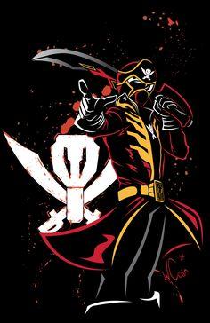 Mega-gokai-red by wccomics on DeviantArt Power Rangers Cosplay, Power Rangers 2017, Original Power Rangers, Power Rangers Samurai, Go Go Power Rangers, Mighty Morphin Power Rangers, Dino Rangers, Pawer Rangers, Vr Troopers