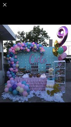 Jojo Siwa Birthday Party Supplies with regard to Trending 2020 Little Pony Birthday Party, Unicorn Birthday Parties, Unicorn Party, Birthday Party Decorations, 5th Birthday, Balloon Decorations, Birthday Ideas, Jojo Siwa Birthday, Simple Baby Shower