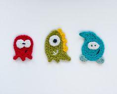 Instant Download PDF Crochet Pattern por oneandtwocompany en Etsy