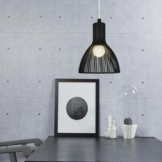 Emition 26 Black pendant by Design For The People @peterreidlighting #modernpendantlight