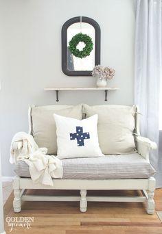 Ethan Allen cozy cot