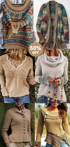 Casual women sweaters. | 50% OFF | Limited Time! | Shop Now! | Corachic New Arrivals. Pretty Outfits, Cool Outfits, Fashion Outfits, Womens Fashion, Jackets For Women, Sweaters For Women, Professional Outfits, Casual Fall Outfits, Pulls