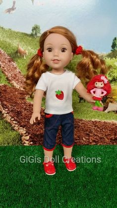 Handmade Doll Clothes fits 14.5 inch dolls like Wellie