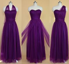 2017 Purple Long Bridesmaid Dress, Purple Tulle Long Bridesmaid Dress Wedding Party Dress sold by dreamdressy. Shop more products from dreamdressy on Storenvy, the home of independent small businesses all over the world.