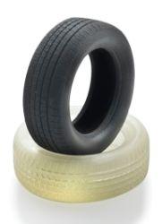 Flexible, weiche 3D-Druckmodelle  festes und blickdichtes weißes (VeroWhitePlus), gummiartiges schwarzes (TangoBlackPlus) oder gummiartiges Material (TangoPlus) kombinieren, um 9 Shore-A-Härtegrade, von Shore 27 bis Shore 95, mit zunehmender Reiß- und Zugfestigkeit. Zusätzliche Digital Materials mit weiteren Shore-Härtegraden können durch die Kombination anderer fester und gummiartiger Materialien einschließlich einem Spektrum von Farbmaterialien auf dem Connex3-System hergestellt werden