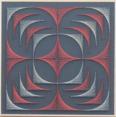 Geometrical String Art Handmade-home-decor-wall-art-string-art.jpg (1057×1071)