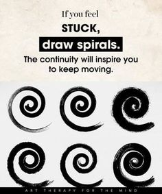 family Art therapy activities 15 Ways To Use Art For Controlling Your Mind And Channelling Your Emotions- if you feel stuck: draw spirals Art Therapy Projects, Art Therapy Activities, Therapy Ideas, Play Therapy, Children Activities, Feelings Activities, Mental Therapy, Creative Arts Therapy, Therapy Worksheets
