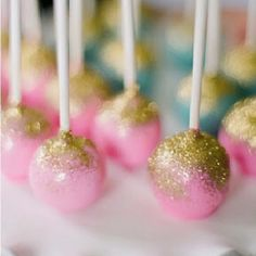 "Edible glitter cake pops / sweet lauren cakes (great idea for a little girls birthday party)"" data-componentType=""MODAL_PIN Edible Glitter, Glitter Cake, Sparkly Cake, Gold Glitter, Glitter Dust, Gold Sparkle, Cupcake Rosa, Cupcake Cakes, Fairy Birthday"