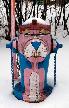 Fire Hydrant Customized