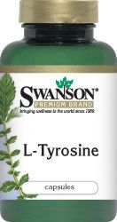 Swanson Premium L-Tyrosine 500 mg 100 Caps - Swanson Health Products