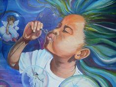 imagination art | Imagination: Paintings Acrylic Children Michelle Chin