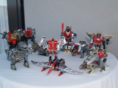 Transformers G1 Dinobots; Was about to try and find the ones I didn't have second-hand until... third party.