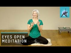 Meditate with Eyes Open and Eyes Closed - YouTube