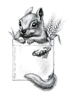 Little animals on Behance