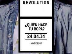 Fashion Revolution Day Argentina 2014  - Por FashRev Argentina.  Ya pasó un año, estamos a poco del segundo aniversario. El cambio está en nosotros
