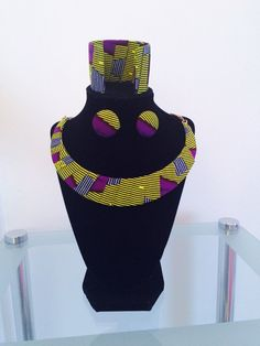 Hey, I found this really awesome Etsy listing at https://www.etsy.com/listing/242086497/ankara-necklace-set