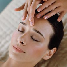 scalp massage spa; I think this is the part of the massage my clients like best.