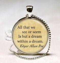 Edgar Allan Poe pendant