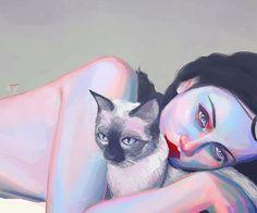 #phazed #cat #kitten #love #friend #friendship #pet #cuddle #cute #digitalart #cats #kitty #beautiful #nap #sleep #colorful #friends #friendsforlife