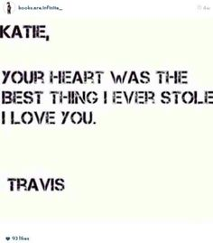 We barely know anything about Travis and Katie why r ppl shipping them??? <<< BECAUSE IT'S ADORABLE OK SO STAHPP