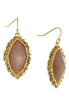 Louise+et+Cie+Semiprecious+Stone+Drop+Earrings+available+at+#Nordstrom