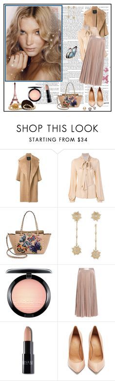 """Untitled #1794"" by klassia ❤ liked on Polyvore featuring Beauty Secrets, MaxMara, Dondup, Valentino, MAC Cosmetics, A.L.C. and Maison Margiela"