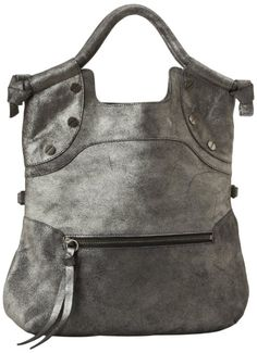 """Price:$199.11   Foley + Corinna FC Lady Tote #Crossbody #Handbag,Graphite   100% leather, cotton lining, 3.75"""" shoulder drop, 13"""" high, 12.5"""" wide, Made in China."""