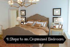 Simple Bedroom Organization Tips