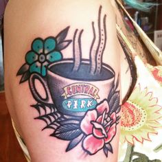 1337tattoos:  My 'Friends' tattoo done by; Gentleman Tattoo - Maarten Vdb in The Netherlandssubmitted byhttp://cadaver0usly.tumblr.com