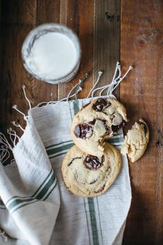 Molly Yeh knows the best way to sum up the first week of 2016...tahini chocolate chip cookies! @yehmolly