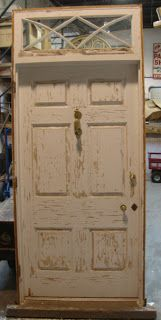 Black Dog Salvage - Architectural Antiques & Custom Designs: New (Old) Doors just arrived! Salvaged from a 1950s home in Charlottesville, VA...