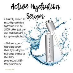 This is a MUST HAVE this time of year! The cold, dry air can be brutal for your skin and Active Hydration Serum certainly does NOT disappoint!!