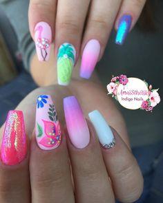 #nails #nailart #nailsart #nailstagram #nailshop #nailpro #nailswag #nailstyle #nailporn #nailtech #nailgasm #nailsdid #indigonails #coffinnails