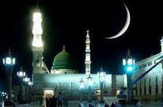Madina Muawwaraa at Night Time: Learn Madina Book 1 Lesson 1 - http://www.islamic-web.com/arabic-course/learn-arabic-language-online-free-in-english/