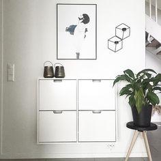 Ikea 'Ställ' shoe cabinet @sk.interior …