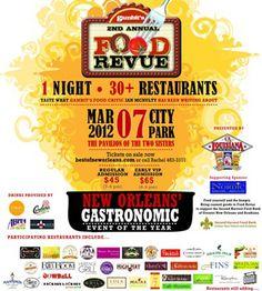 Food Revue Festival.  Newer festival
