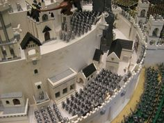 "Minas Tirith by Mark Kelso and Chris Phipson - Journey of the Fellowship 2011 - ""Best Group Layout Brickworld 2011"""