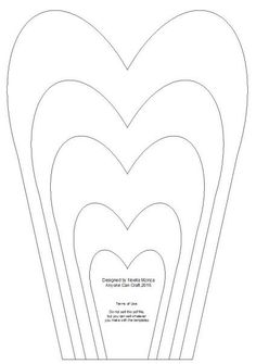 heart shaped petals