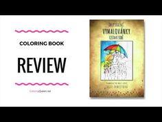 Lucie Ernestova - Vymalovánky - Cesta k sobě  Coloring Book Review - YouTube