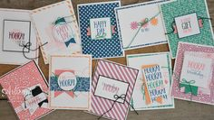 Stampin' Dolce: Perfectly Wrapped Birthday Card Class in Edmonton, Alberta! - registration open