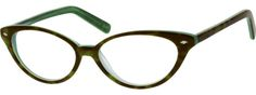 Order online, women's green full rim acetate/plastic cat-eye eyeglass frames model #186724. Visit Zenni Optical today to browse our collection of glasses and sunglasses.