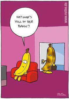 Zerdrückte Banane