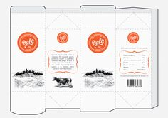 Printable Milk Carton Template | Whole milk - carton template.