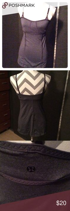 Lululemon Bra Top Lululemon Bra Top in grey. Adjustable straps. No tag. lululemon athletica Tops Tank Tops