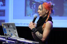 "The winners of NDPC Filmteractive Market Award - ""Axion"" (Poland, Sweden, UK, USA, Switzerland. Here: Jasmine Idun Lyman"